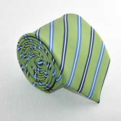 Zelená kravata 4 ANGELO di MONTI