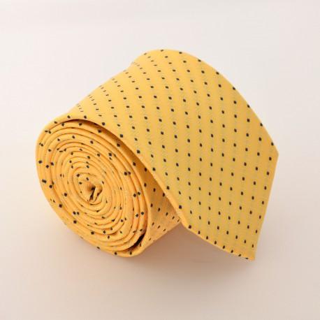 Žlutá kravata 1 ANGELO di MONTI