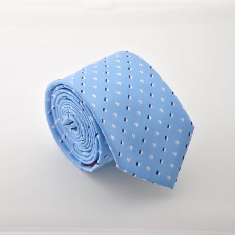 Modrá kravata 2 ANGELO di MONTI ADM-24