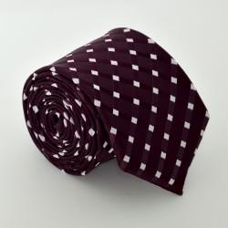 Fialová kravata ANGELO di MONTI