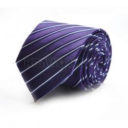 Fialová kravata 5 ANGELO di MONTI