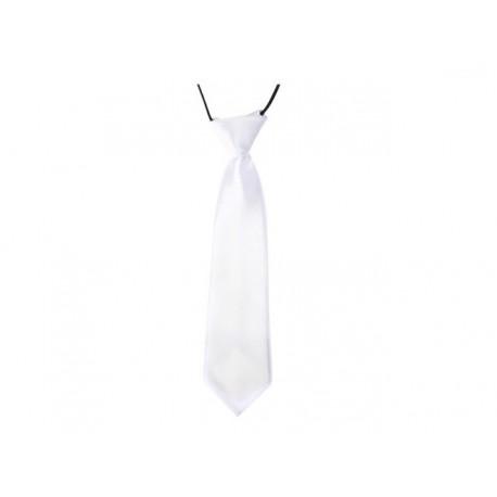Dětská kravata (bílá)
