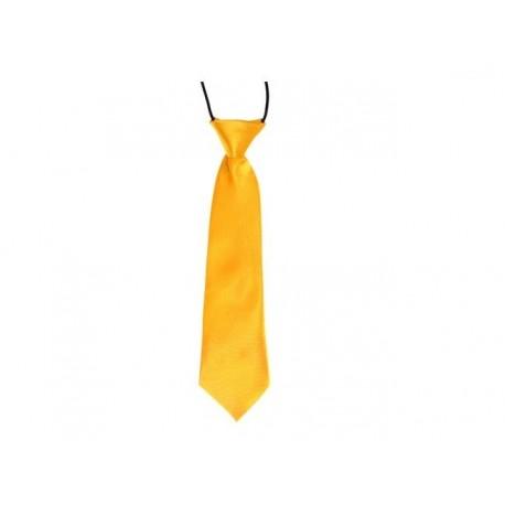 Dětská kravata (pískově žlutá)