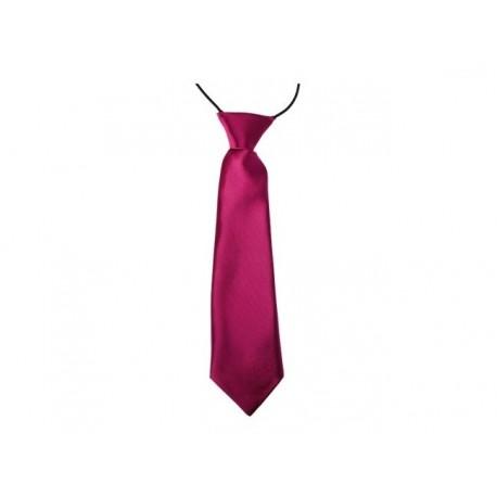 Dětská kravata (vínová)