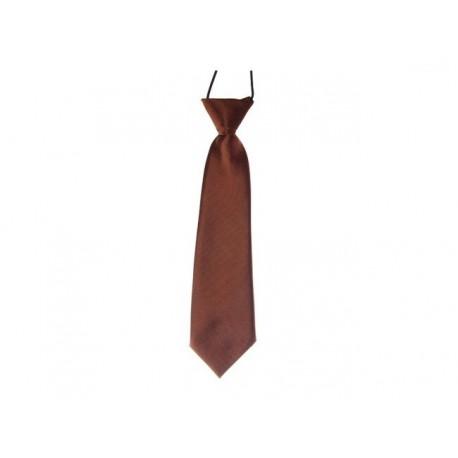 Dětská kravata (hnědá)