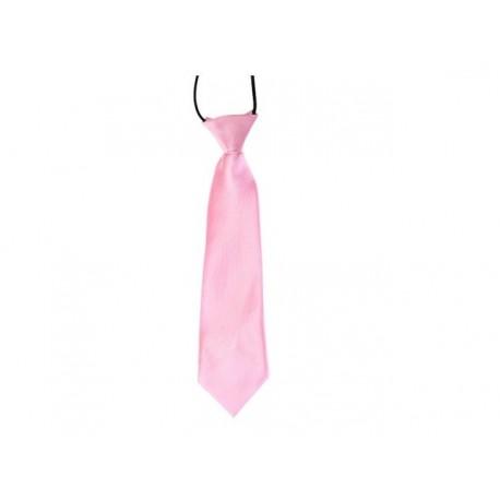 Dětská kravata (světle růžová)