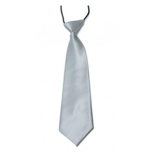 Dětská kravata (stříbrná)