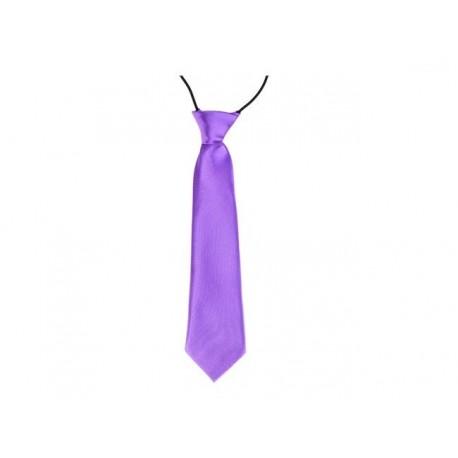 Dětská kravata (světle fialová)