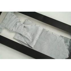 Svatební kravata s kapesníčkem SK-008