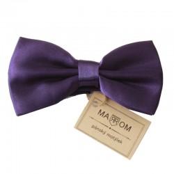 Pánský motýlek MARROM - tmavě fialový