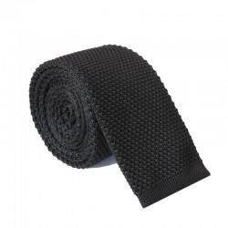 Pletená kravata MARROM - černá