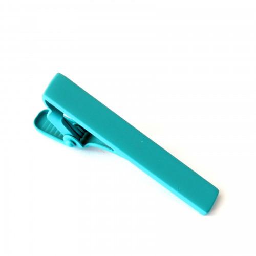 Spona na kravatu - tyrkysová