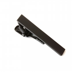 Spona na kravatu - čierna