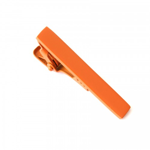 Spona na kravatu - oranžová