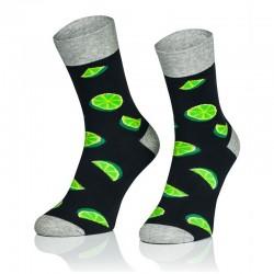 Pánské ponožky MARROM - limetky 41/43