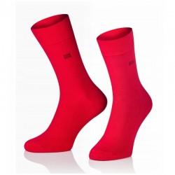 Pánské ponožky MARROM - červené 41/43