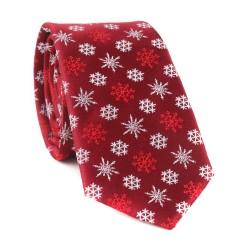 Vánoční kravata MARROM - vínová 03