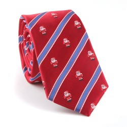 Vánoční kravata MARROM - červená 13