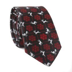 Vánoční kravata MARROM - černá 14
