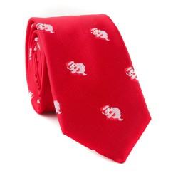 Vianočná kravata MARROM - červená 16
