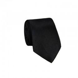 Hedvábná kravata MARROM - černá