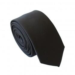 Čierna kravata - SLIM