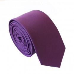 Fialová kravata - SLIM