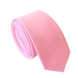 Ružová kravata - SLIM