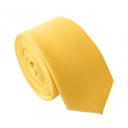 Žltá kravata - SLIM