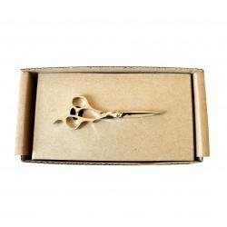 Spona na kravatu MARROM - nožnice silver