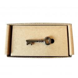 Spona na kravatu MARROM - kľúč