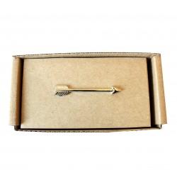 Spona na kravatu MARROM - šíp silver