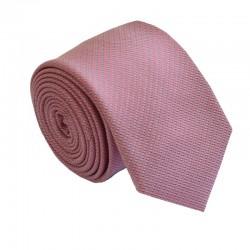 Tmavě starorůžová kravata ANGELO di MONTI ADM-151