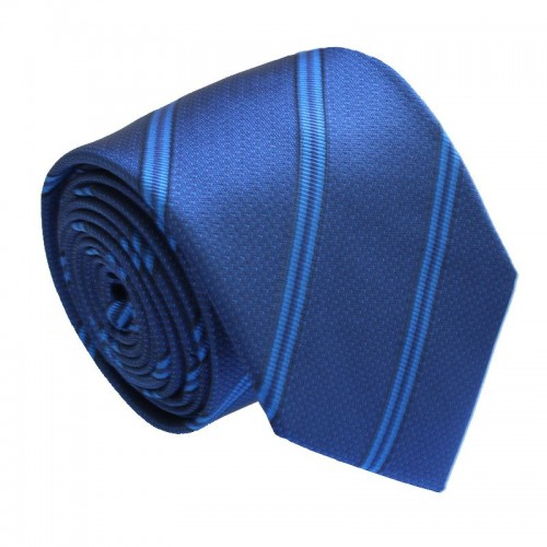 Modrá kravata ANGELO di MONTI ADM-156