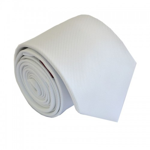 Bílá kravata ANGELO di MONTI ADM-158