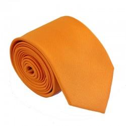 Oranžová kravata ANGELO di MONTI ADM-159