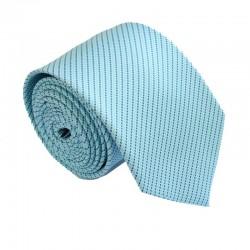 Tyrkysově modrá kravata ANGELO di MONTI ADM-161