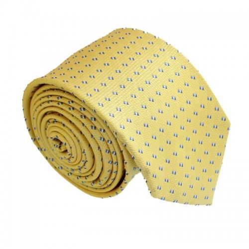 Žlutá kravata ANGELO di MONTI ADM-162
