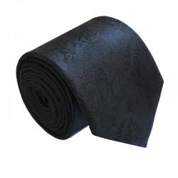 Čierna kravata ANGELO di MONTI ADM-164