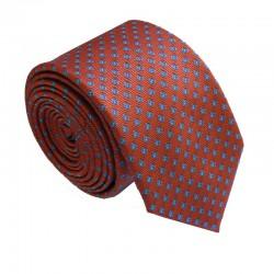 Tmavě oranžová kravata ANGELO di MONTI ADM-165