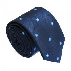 Modrá kravata ANGELO di MONTI ADM-170