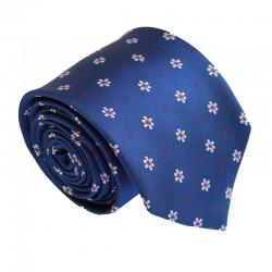 Modrá kravata ANGELO di MONTI ADM-172