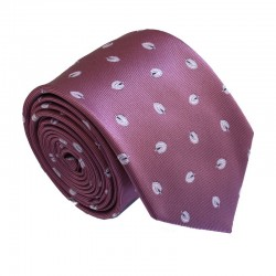 Fialová kravata ANGELO di MONTI ADM-173