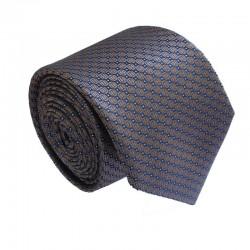 Hnědá kravata ANGELO di MONTI ADM-176