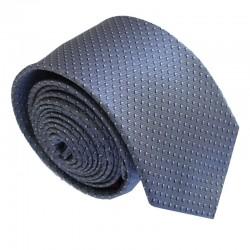 Šedá kravata ANGELO di MONTI ADM-181