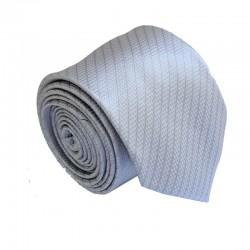 Šedá kravata ANGELO di MONTI ADM-185