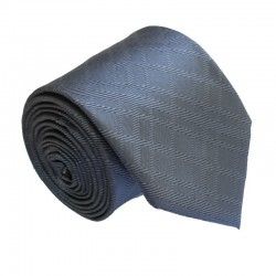 Šedá kravata ANGELO di MONTI ADM-186