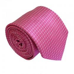 Růžová kravata ANGELO di MONTI ADM-188