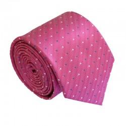 Růžová kravata ANGELO di MONTI ADM-189