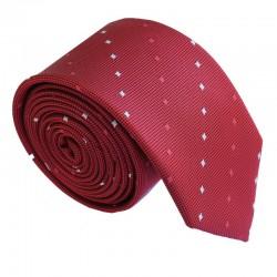 Vínová kravata ANGELO di MONTI ADM-191